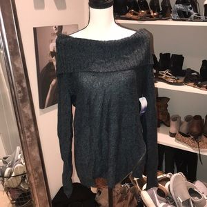 Tops - NWT off shoulder sweater